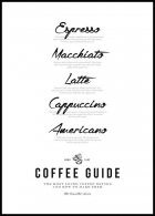 Plakat Coffee Guide